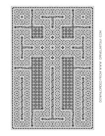 CRUCIFORM CARPET PAGE