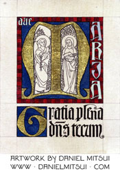 ANNUNCIATION to the VIRGIN MARY