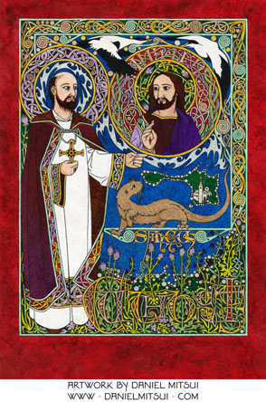 ST. CUTHBERT of LINDISFARNE