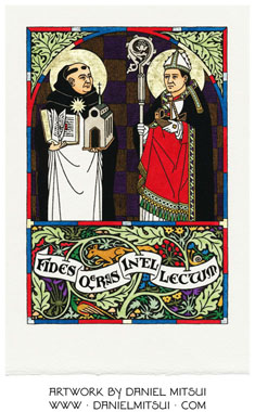 SS. THOMAS AQUINAS & ANSELM of CANTERBURY