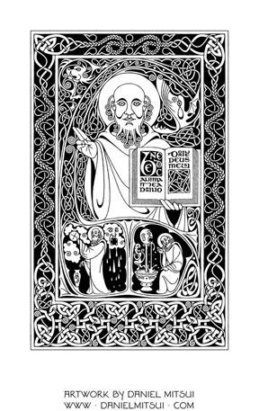 ST. COLUMBA of IONA