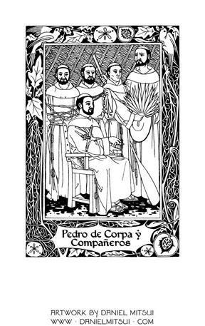 PEDRO de CORPA and COMPANIONS