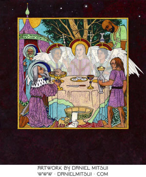 SUMMULA PICTORIA #85: HOSPITALITY of ABRAHAM