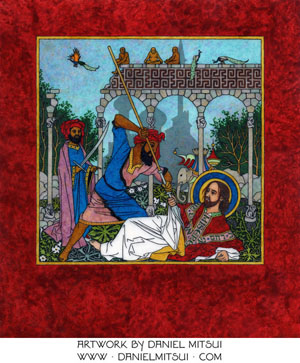 SUMMULA PICTORIA #232: MARTYRDOM of THOMAS the APOSTLE