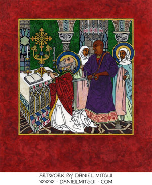 SUMMULA PICTORIA #236: MARTYRDOM of MATTHEW the APOSTLE