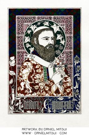ST. THEODORE of CANTERBURY