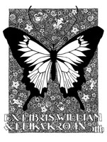 CUSTOM BOOKPLATE